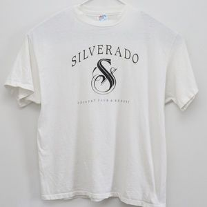 Mens Vintage Golf T-Shirt Silverado Country Club